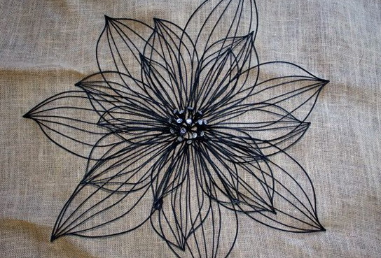 Black Wrought Iron Wall Art