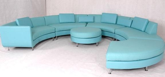 Blue Leather Sofa Ikea
