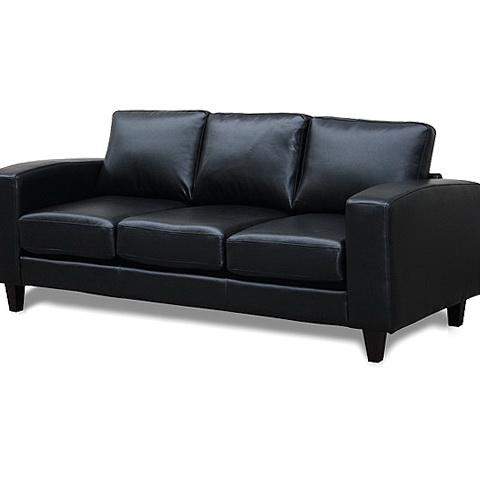 Buchannan Faux Leather Sofa