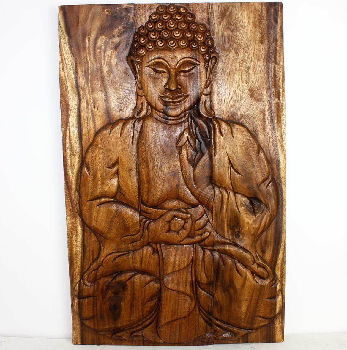 Buddha Wall Art Wood