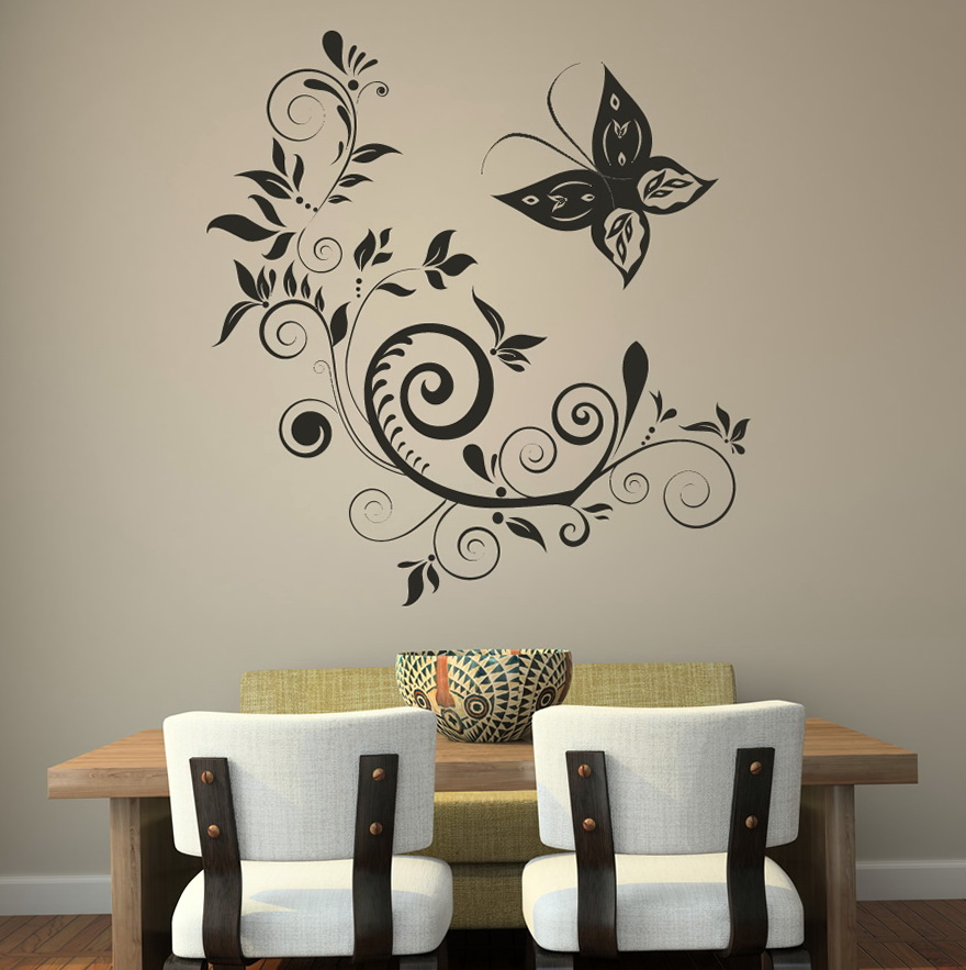 Butterfly Wall Art Stickers