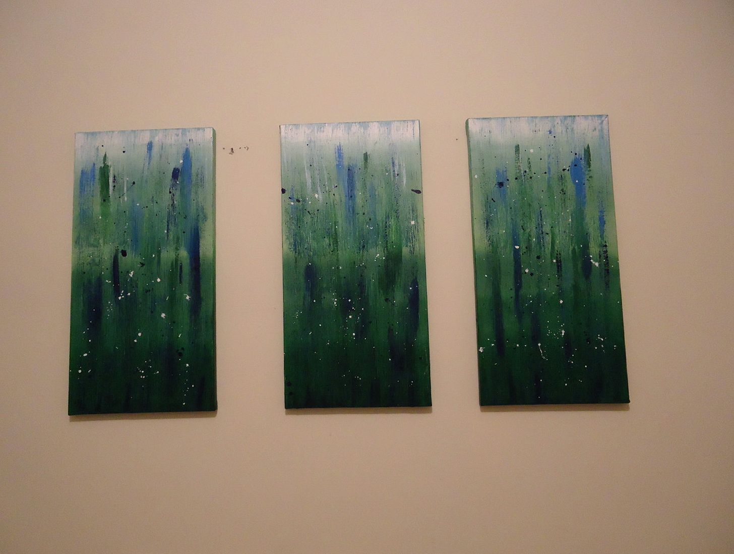 Canvas Triptych Wall Art