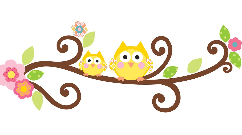 Cartoon Owl Wall Art
