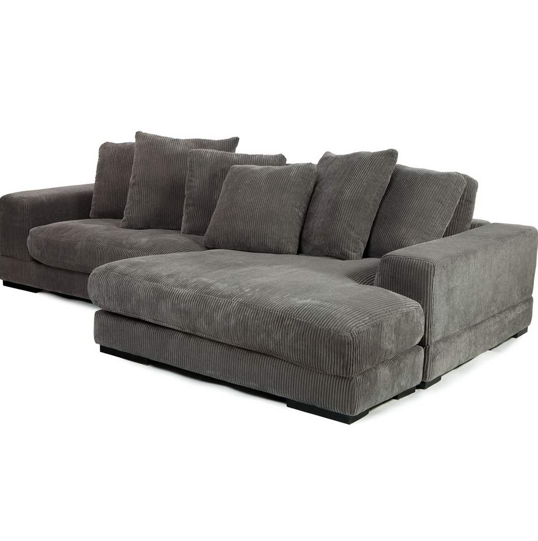 Charcoal Grey Sectional Sofa