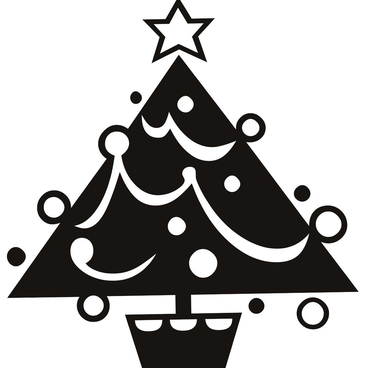Christmas Wall Art Stickers