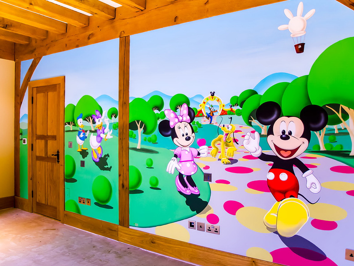 Disney Wall Art Murals