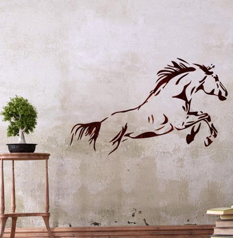 Diy Horse Wall Art