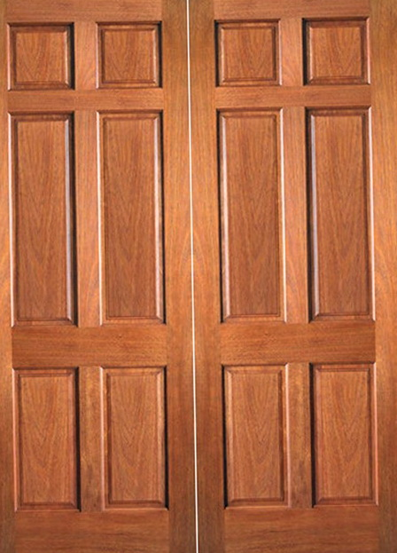 Double Prehung Interior Doors 6 Panel