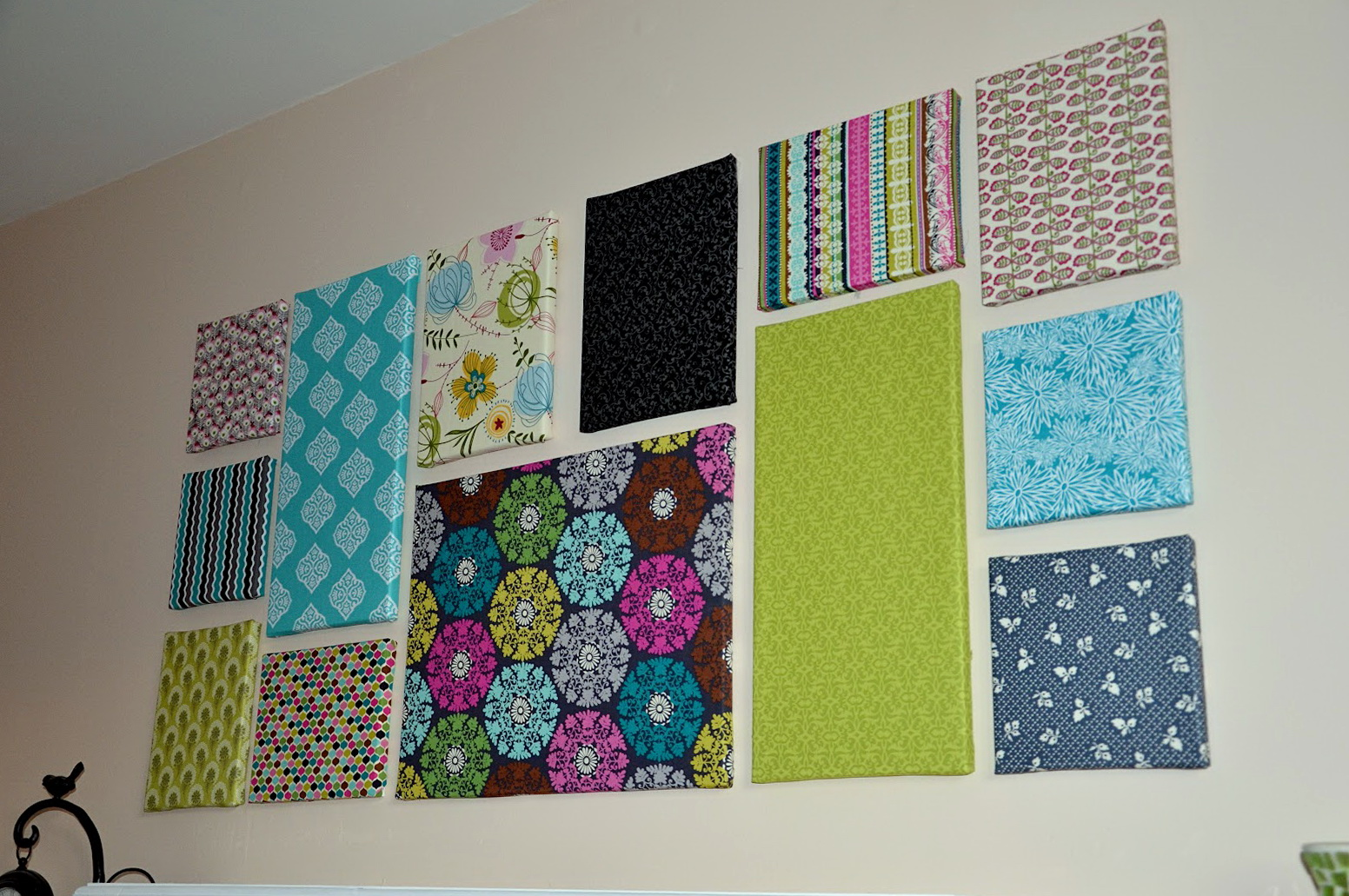 Fabric Wall Art Ideas