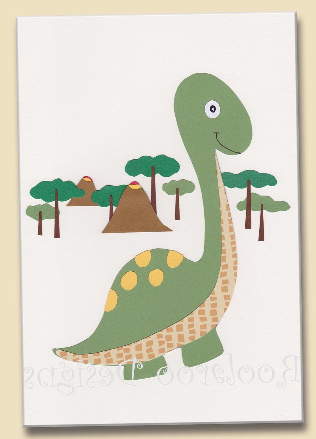 Framed Dinosaur Wall Art