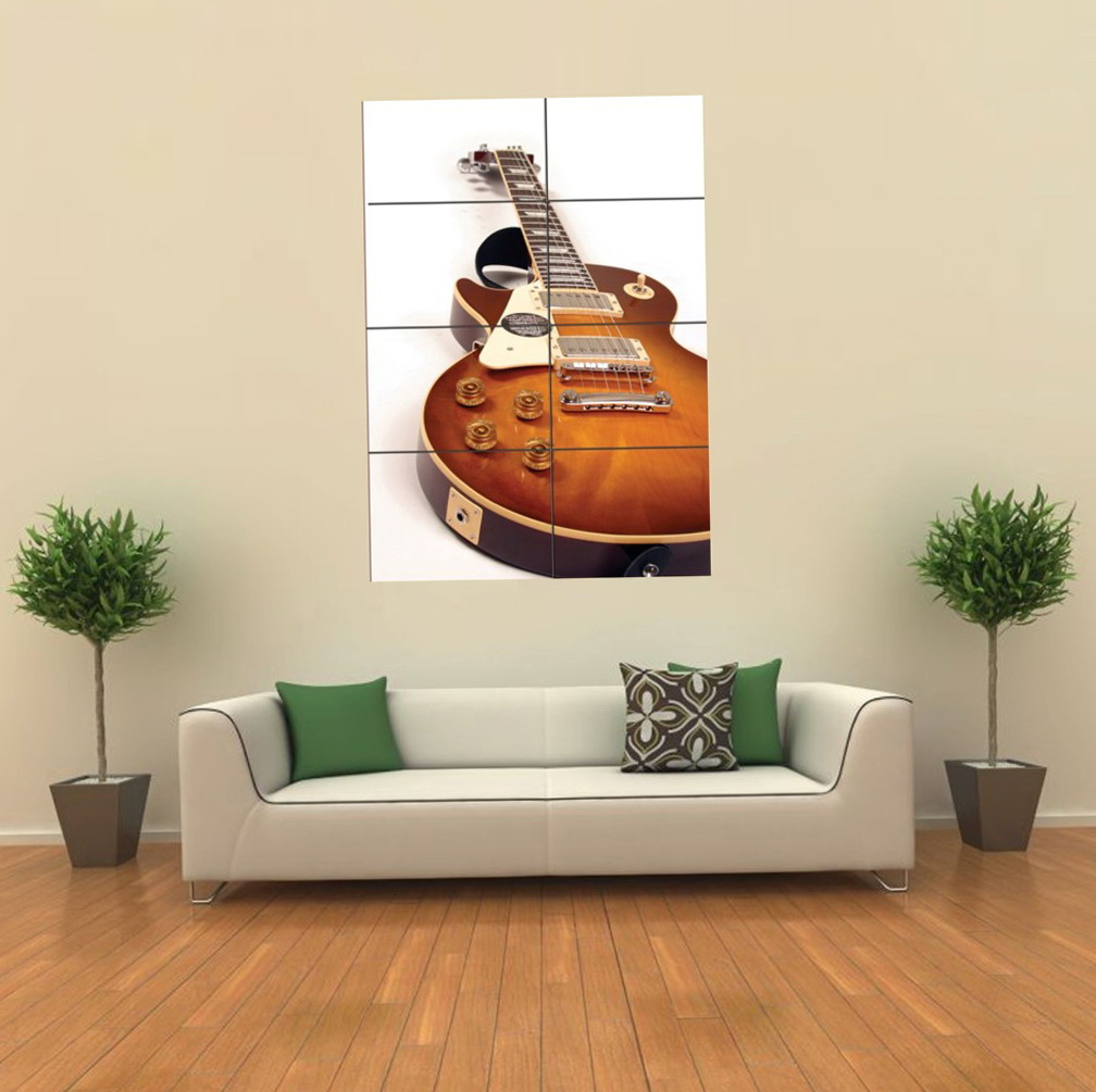 Gibson Guitar Wall Art