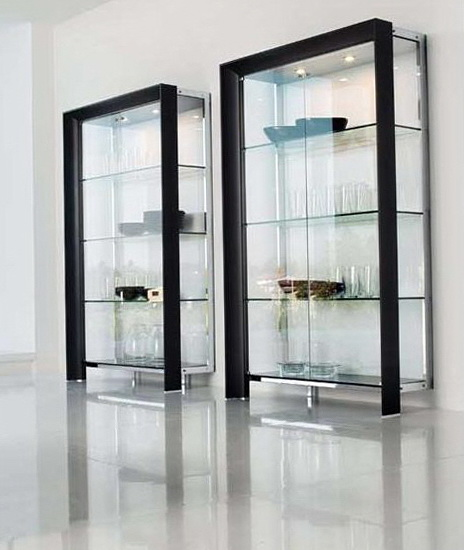Glass Door Cabinet Singapore