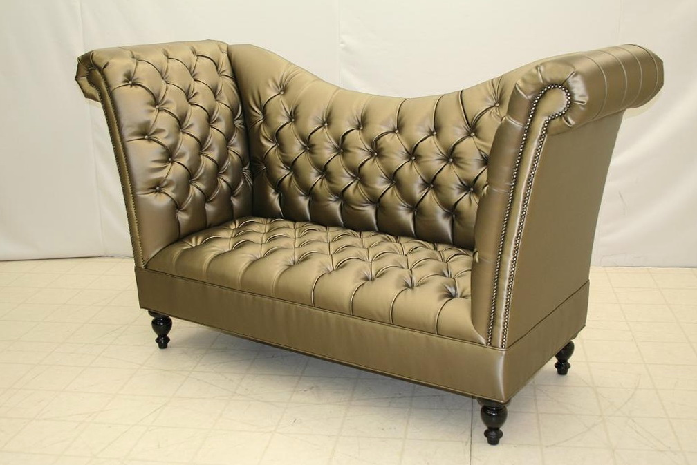 High Back Sofa Tufted