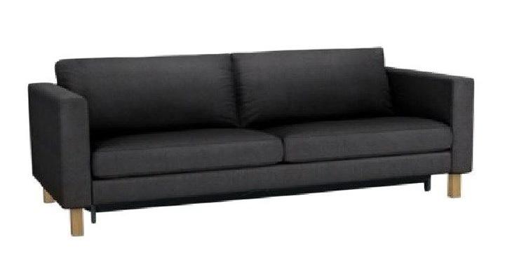 Ikea Karlstad Sofa Sivik Dark Grey