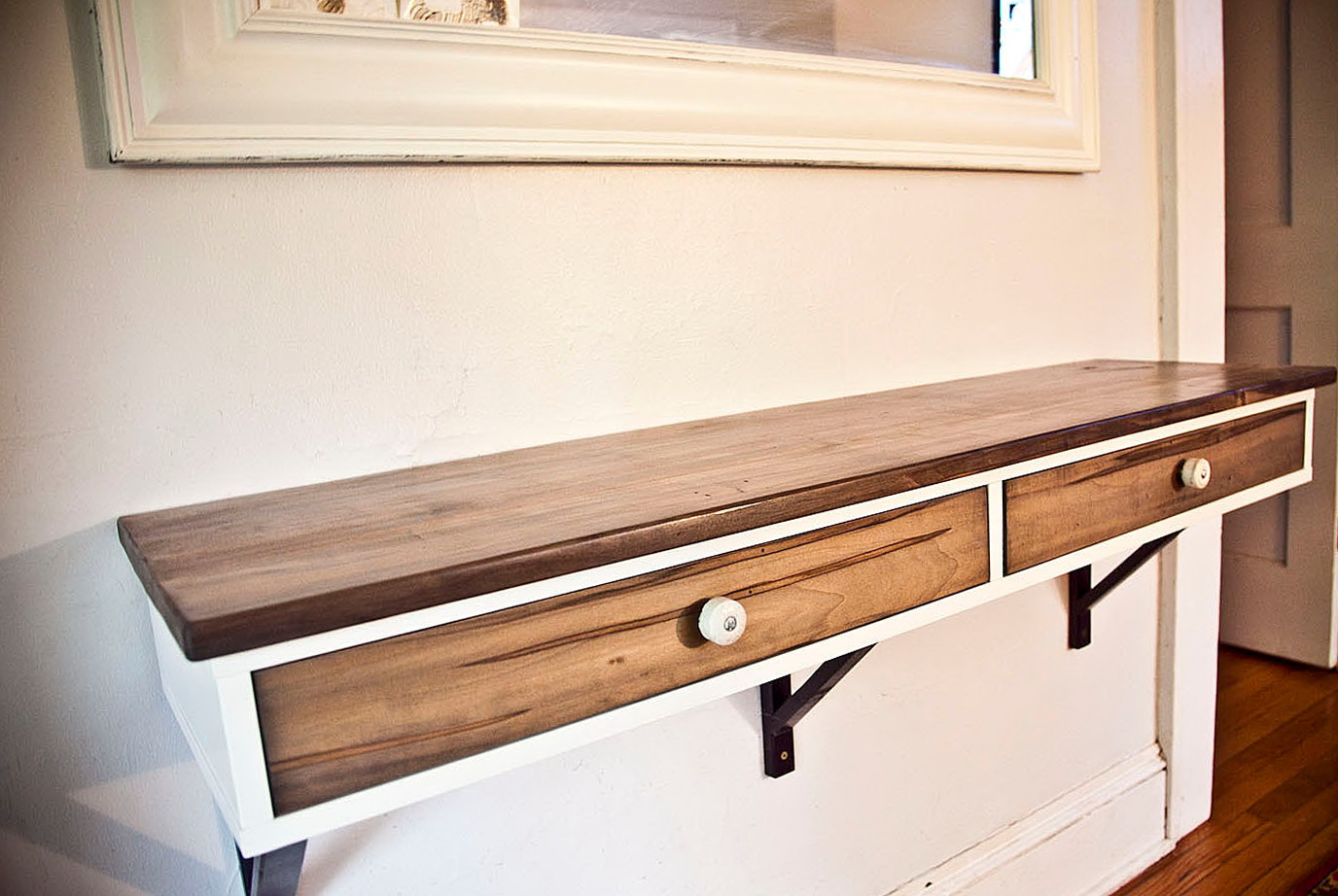 Ikea Wall Shelf With Drawers