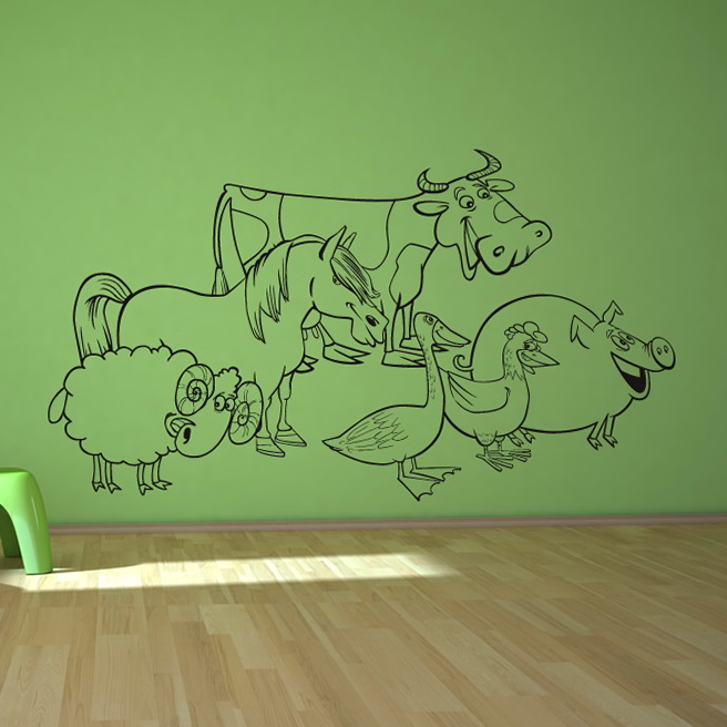 Kids Wall Art Animals