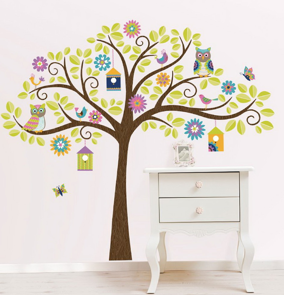 Kids Wall Art Tree