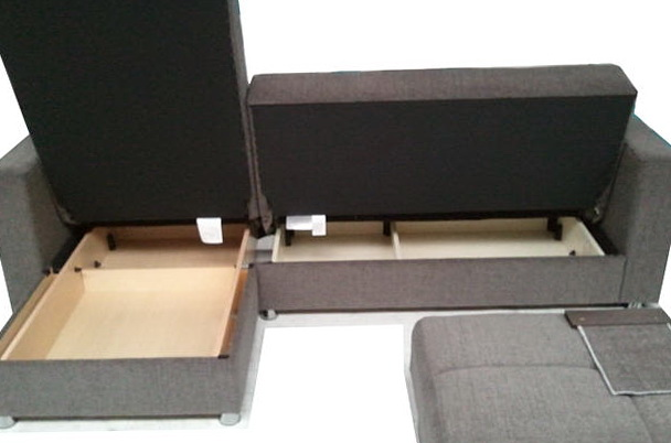L Shaped Sofa With Storage