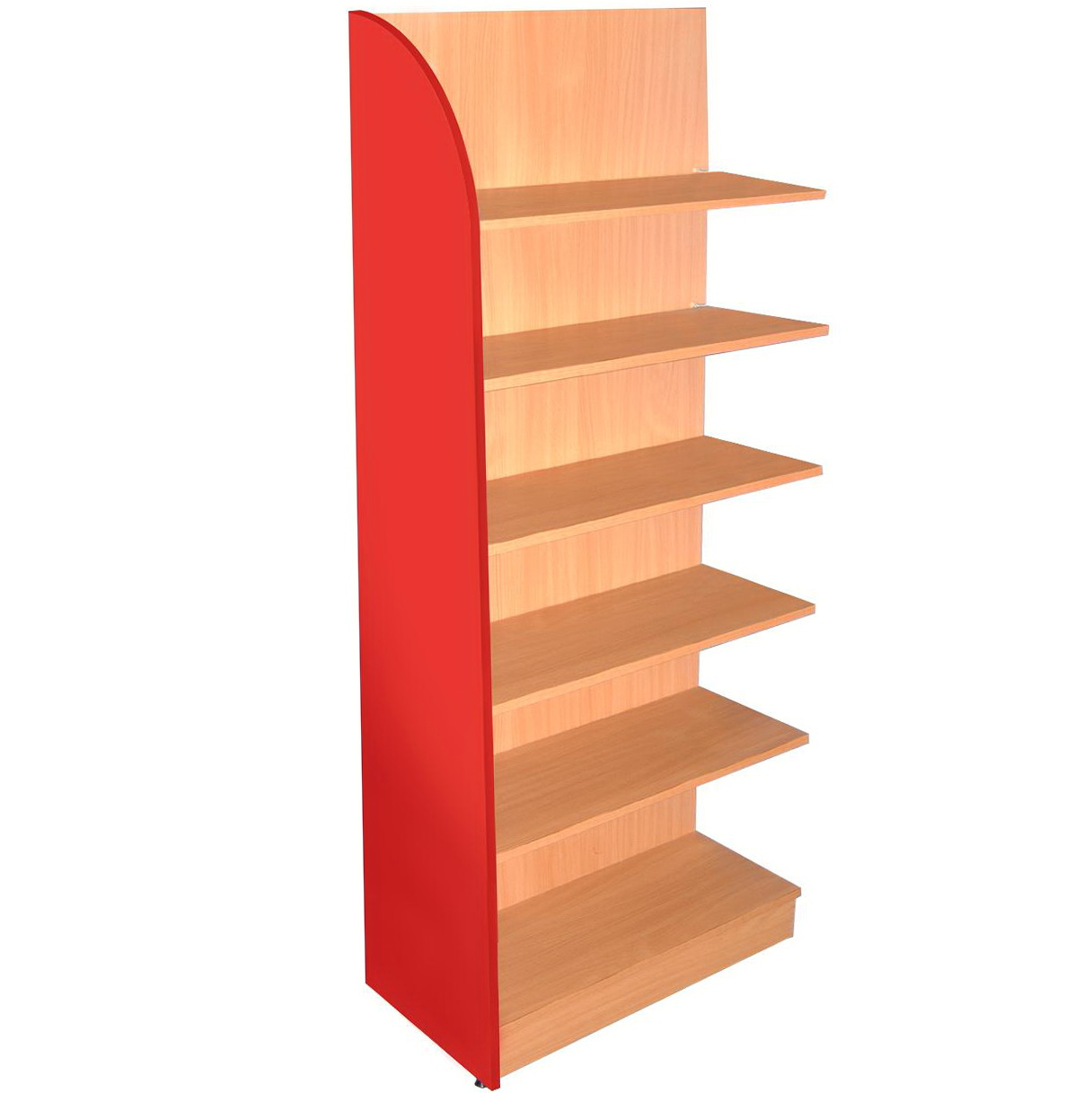 Lack Wall Shelf Unit Red