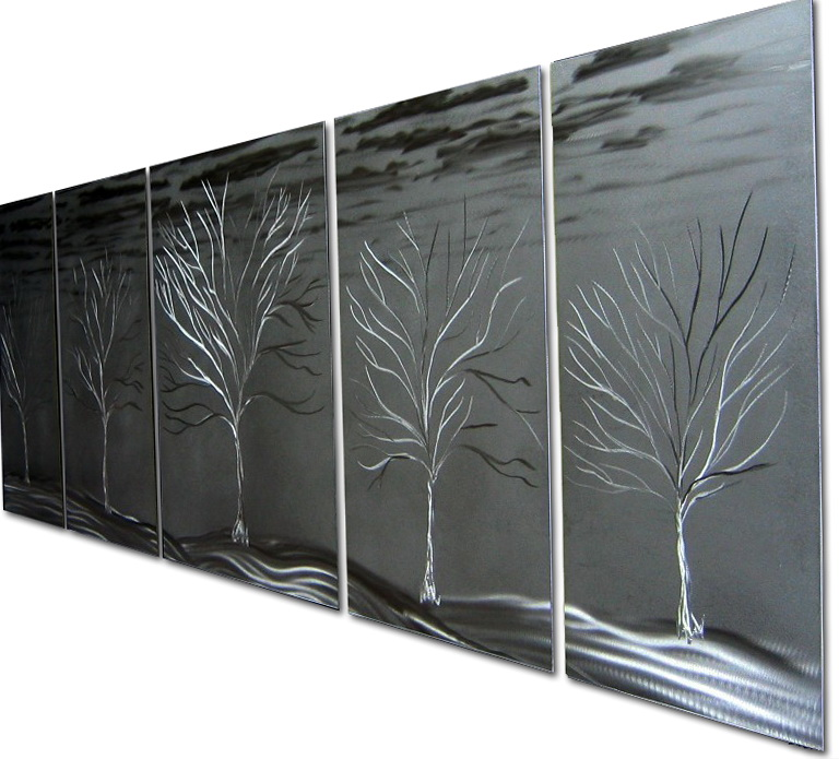 Large Metal Wall Art Panels