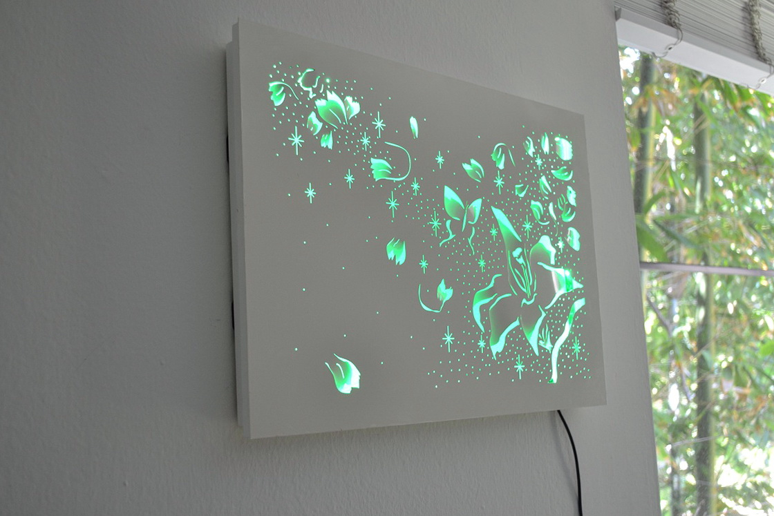 Led Lighted Wall Art