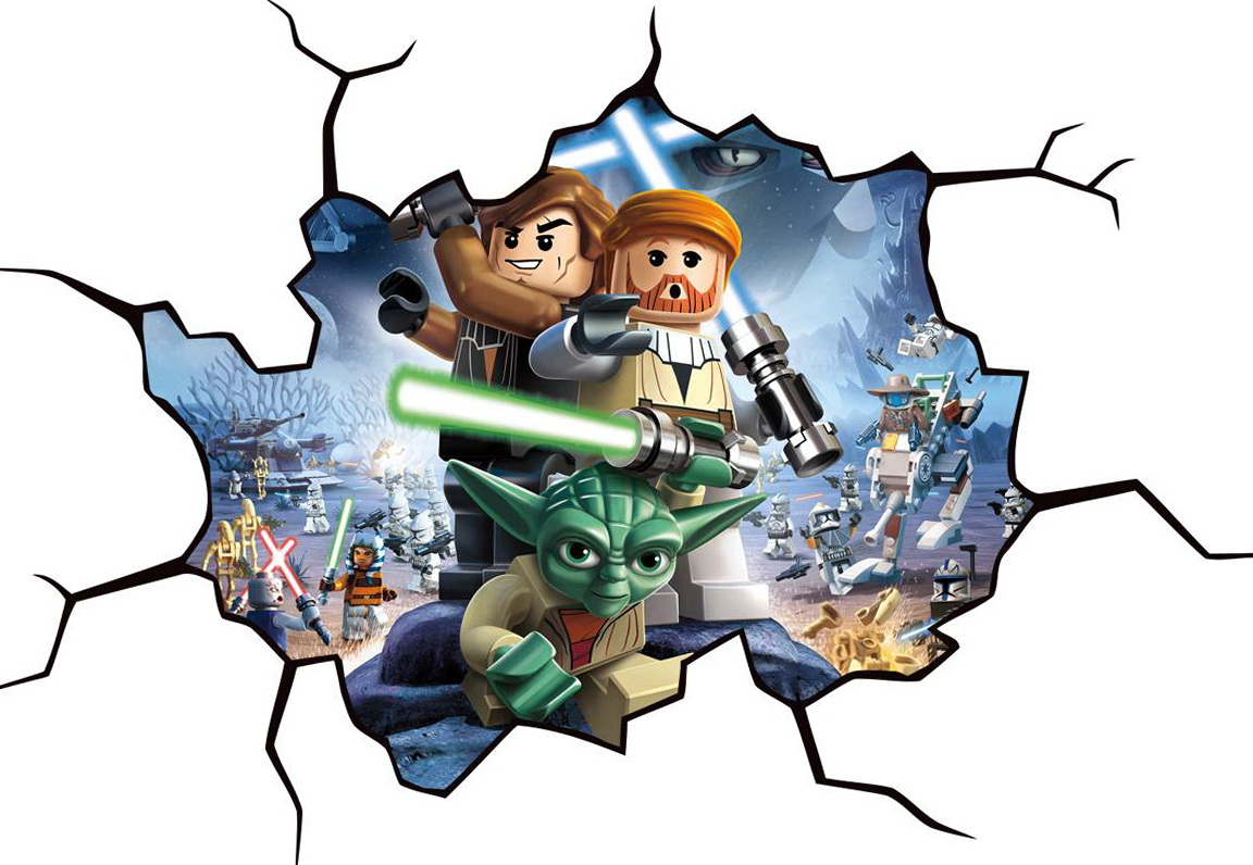 Lego Star Wars Wall Art