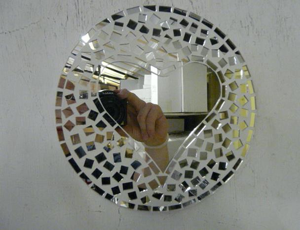 Love Mirror Wall Art