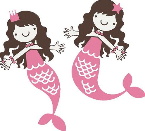 Mermaid Wall Art For Kids