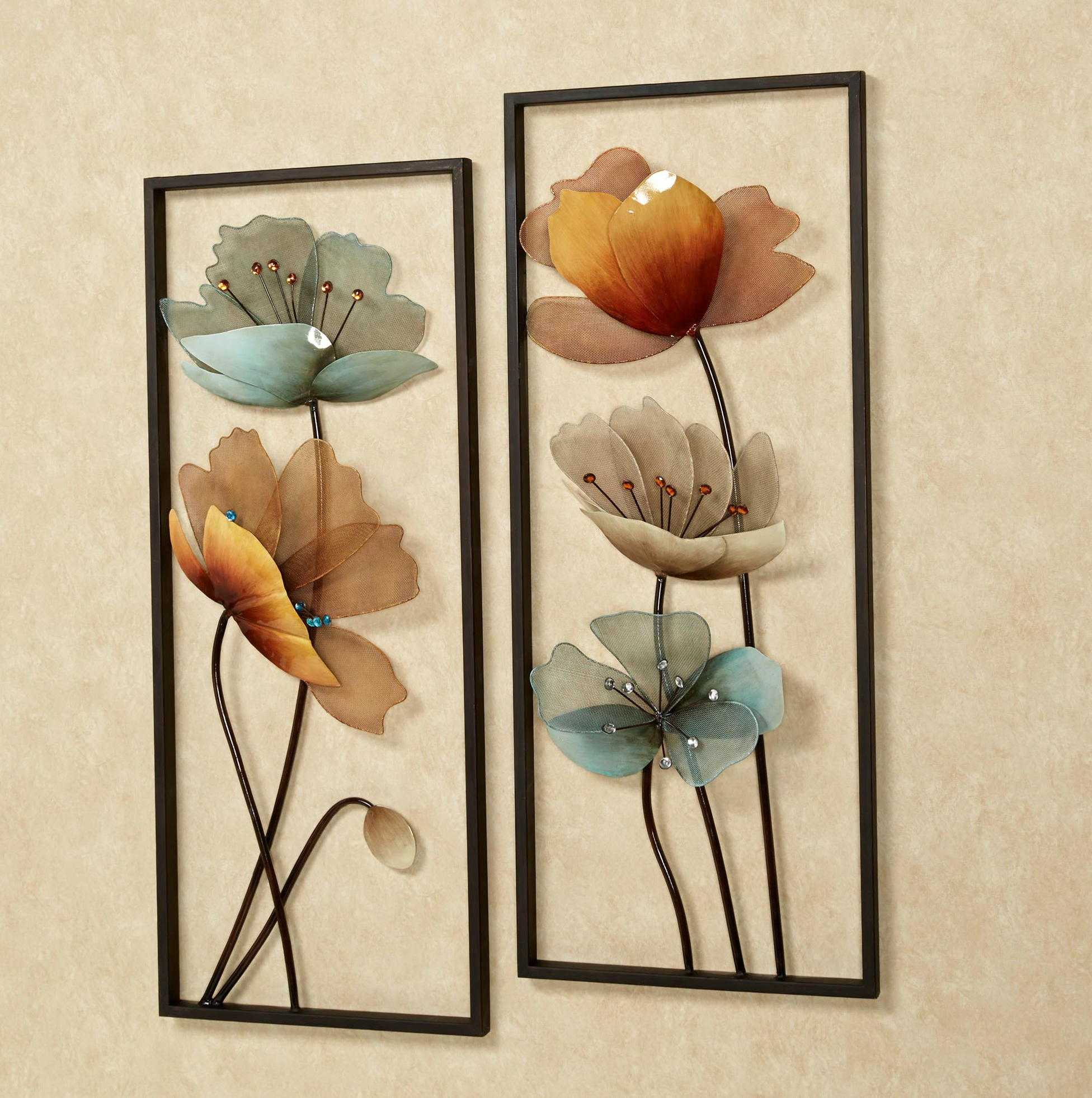 Metal Flower Wall Art Nz
