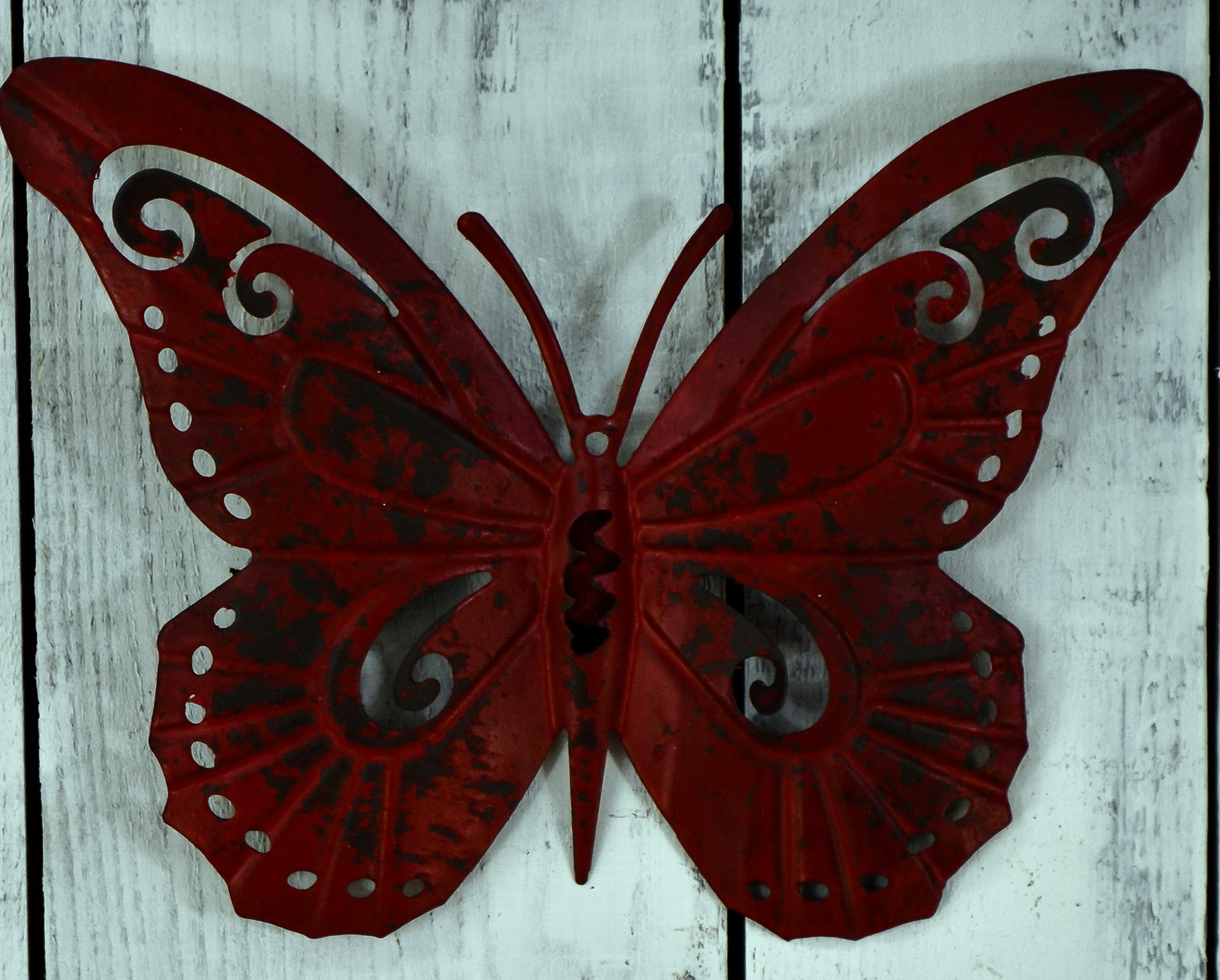 Metal Outdoor Wall Art Butterfly