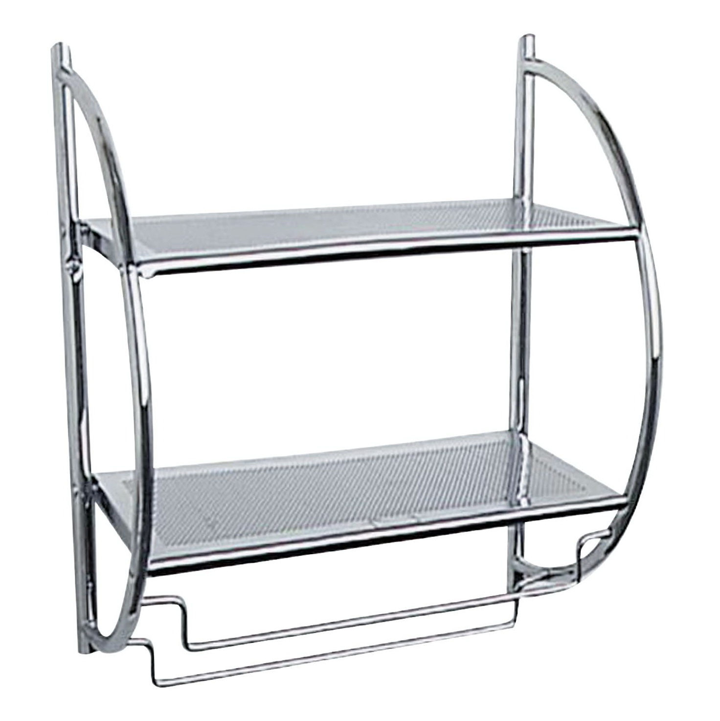 Metal Wall Shelf Unit