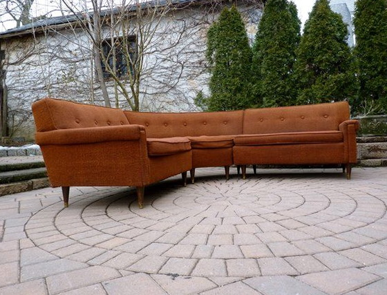 Mid Century Modern Sectional Sofa