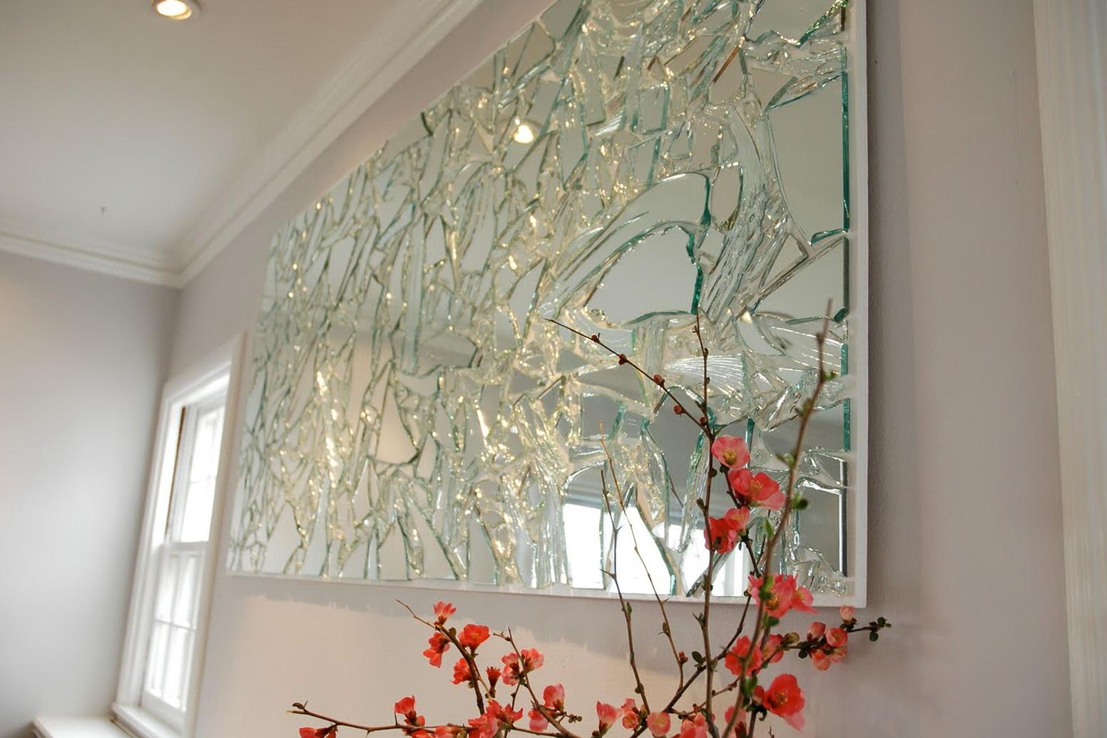 Mirror Wall Art Diy
