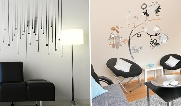 Mirror Wall Art Stickers