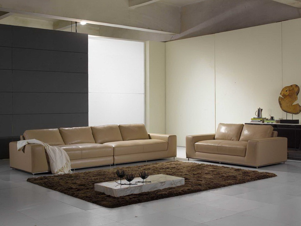 Modern Contemporary Leather Sofas