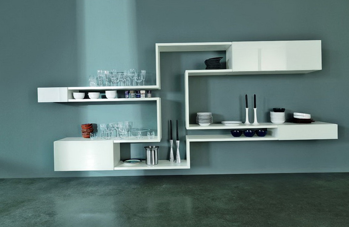 Modern Wall Shelf Design