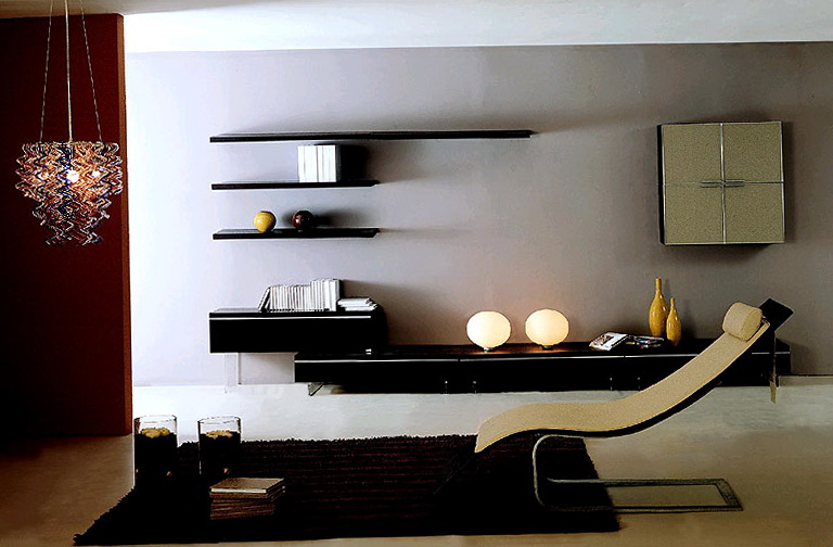 Modern Wall Shelf Unit
