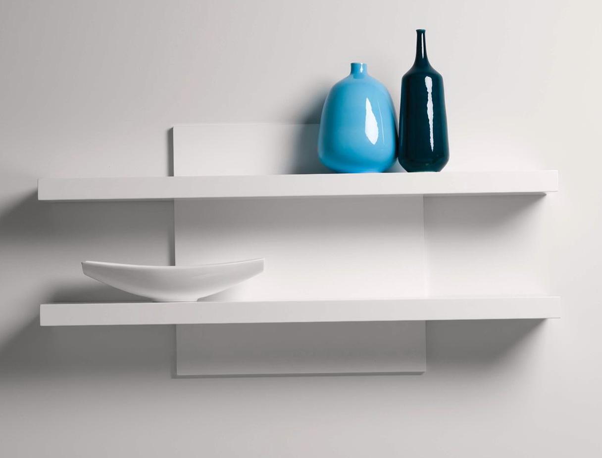 Modern White Wall Shelf