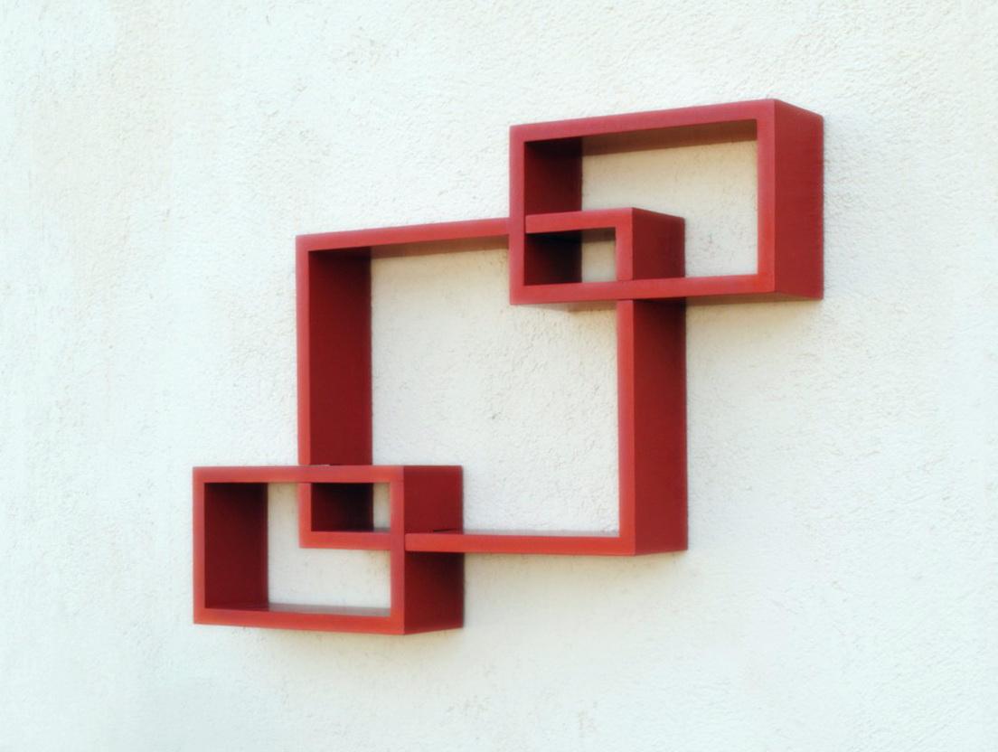 Modern Wooden Wall Shelf