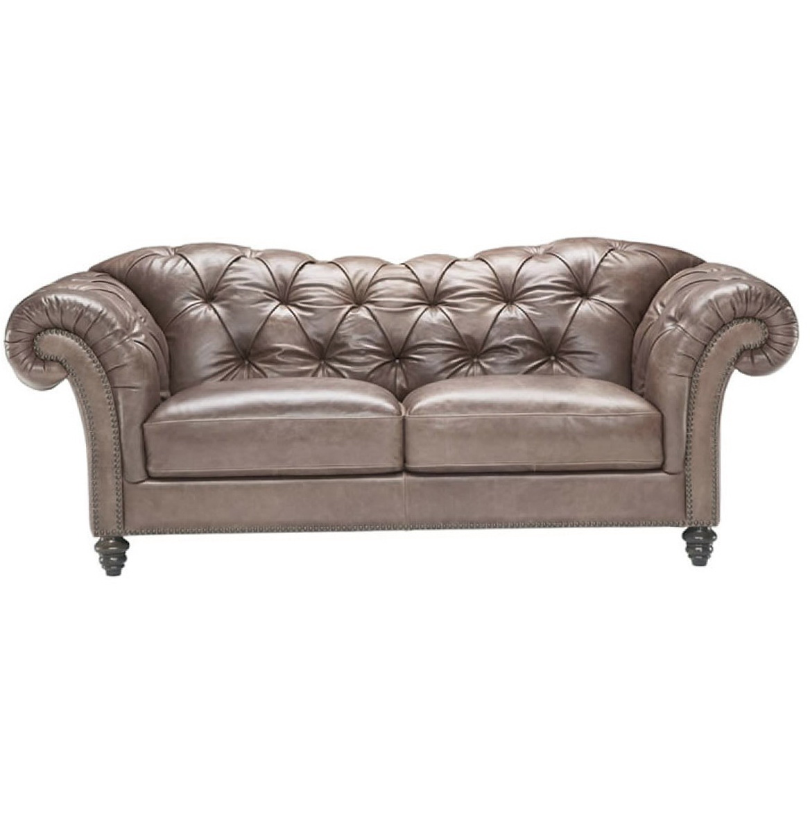 Natuzzi Chesterfield Leather Sofa