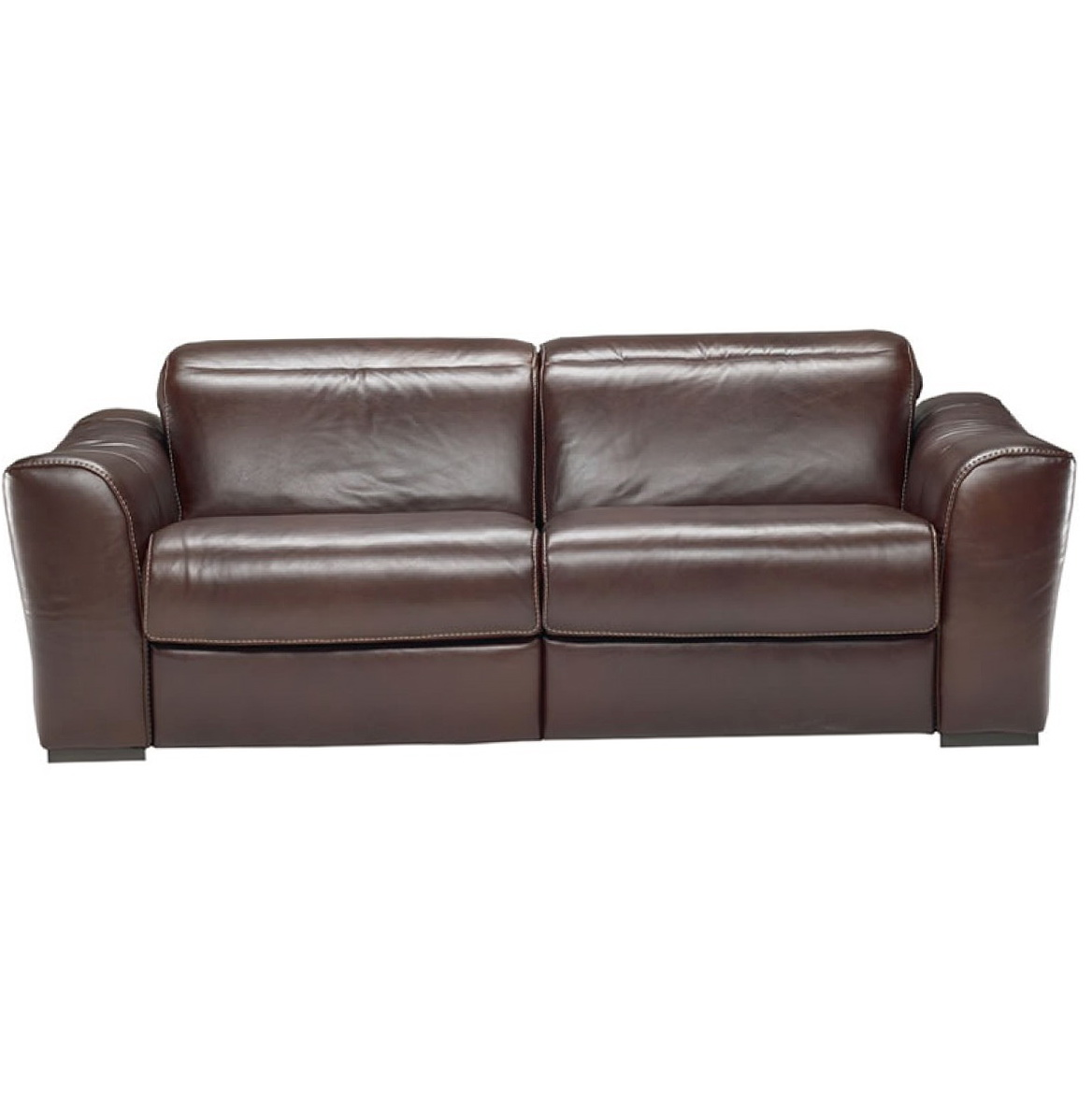 Natuzzi Leather Recliner Sofa