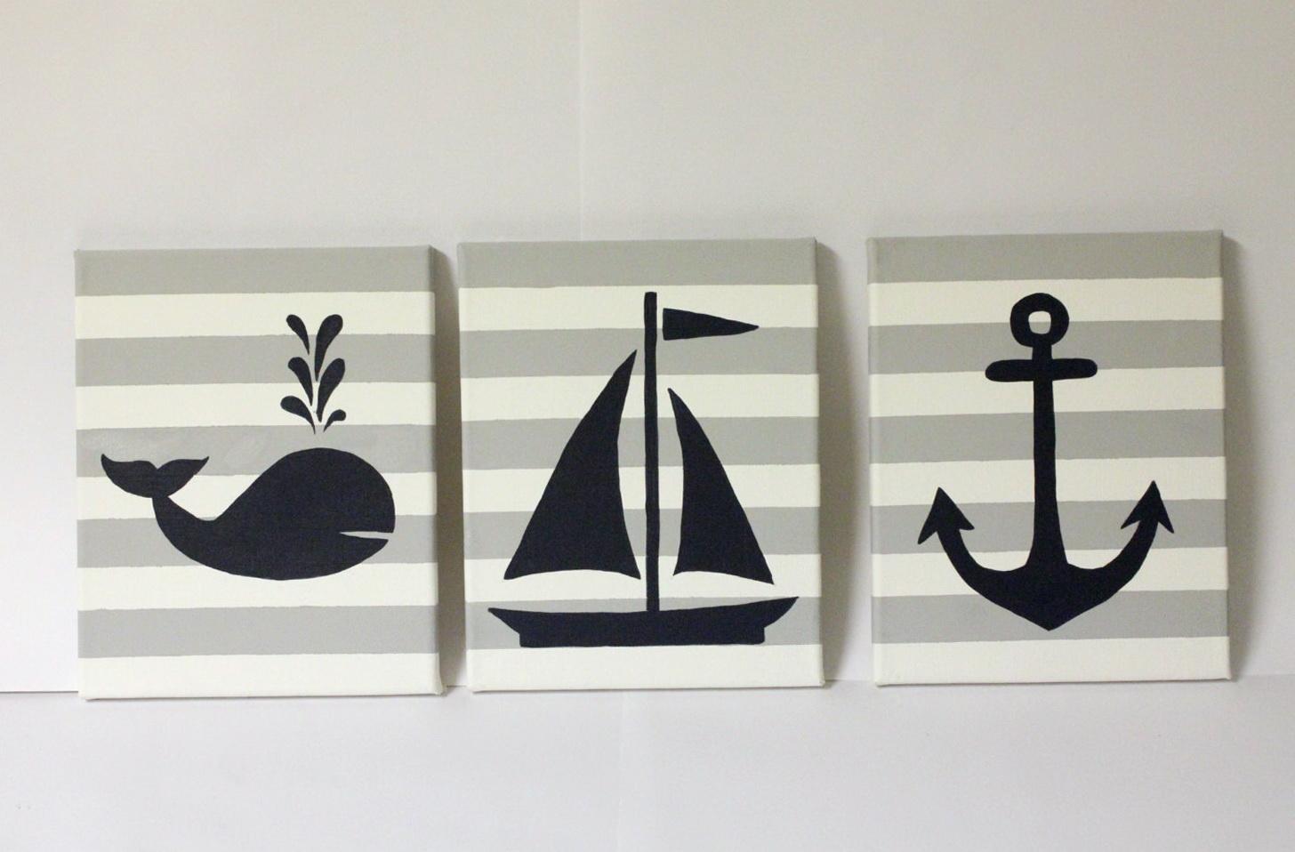 Nautical Wall Art For Nursery