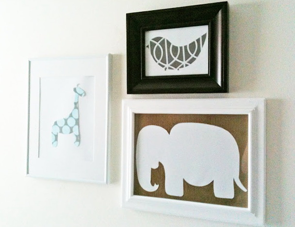 Nursery Wall Art Diy