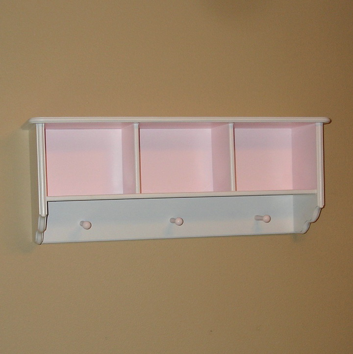 Nursery Wall Bookshelf