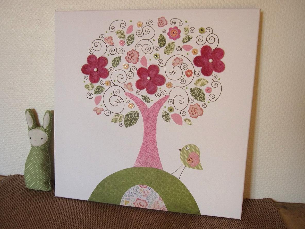 Nursery Wall Canvas Art
