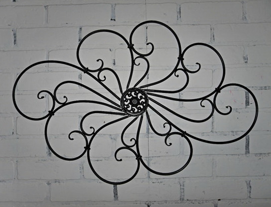 Outdoor Wall Art Wrought Iron