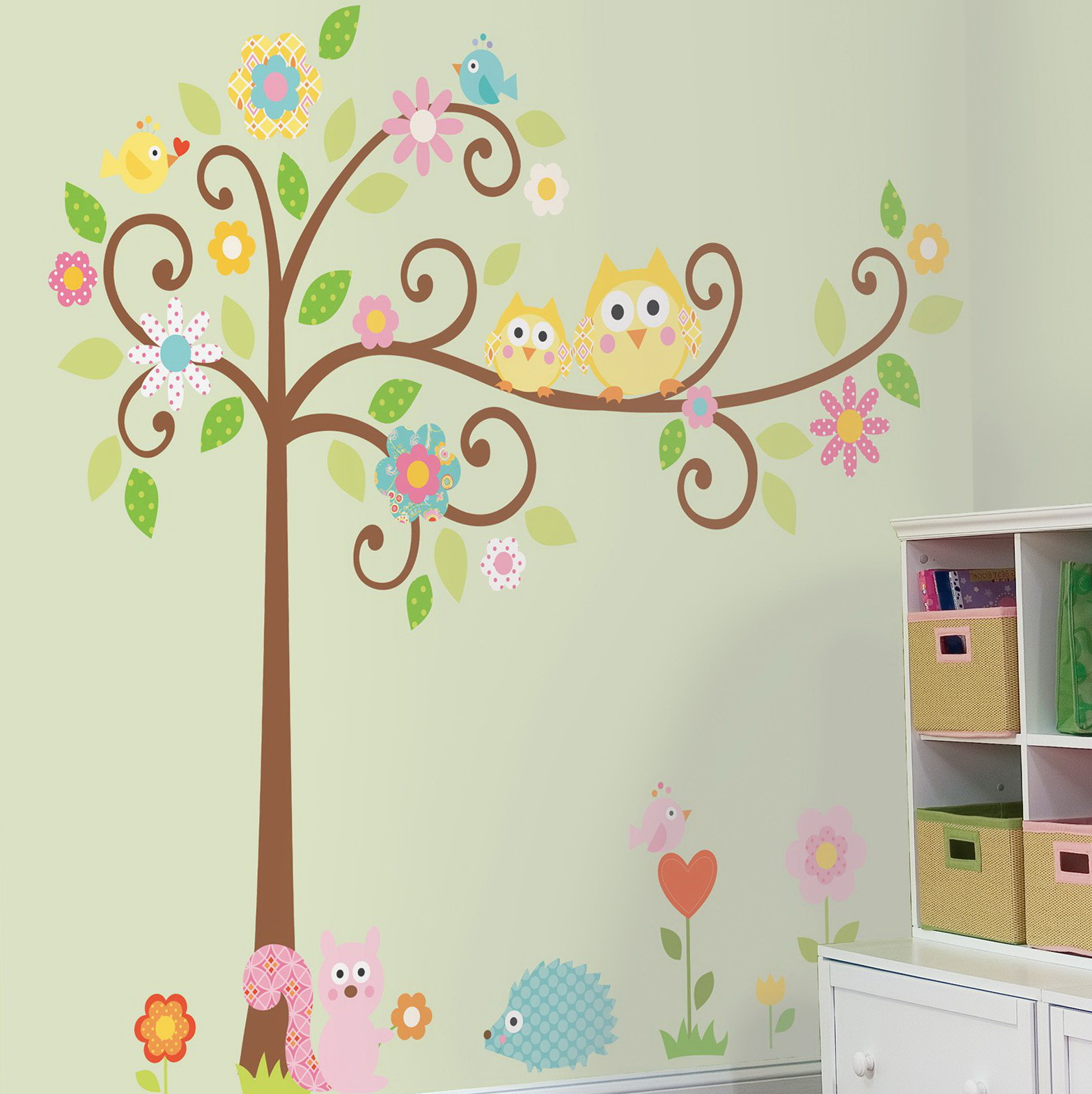 Peel And Stick Wall Art For Kids