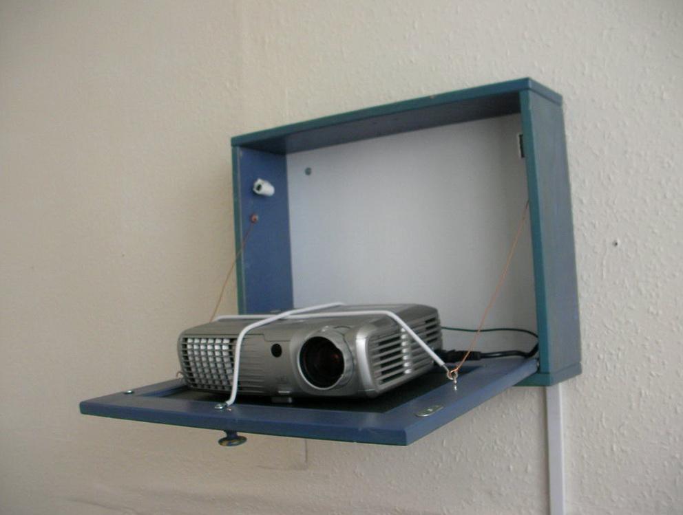 Projector Shelf Wall Mount