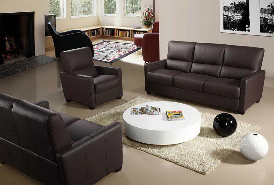 Reclining Leather Sofa Sets