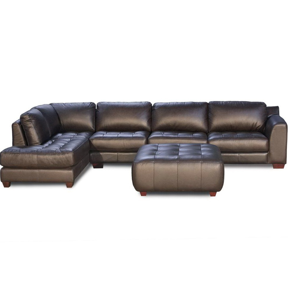 Sectional Sofa With Chaise And Ottoman